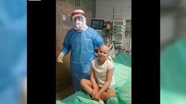 Wrocław. Dziewięciolatka po przeszczepie wygrywa bitwę z koronawirusem