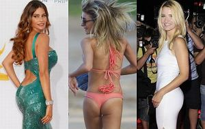 Sofia Vergara, LeAnn Rimes, Joanna Koroniewska, pupy gwiazd, tyłki gwiazd, gwiazdy w bikini