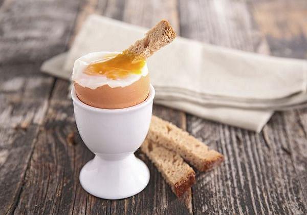 Jajka są sycące i nie czujemy się po nich ciężko