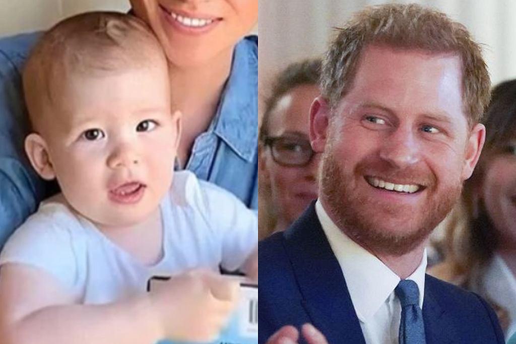 książę Harry i książę Archie