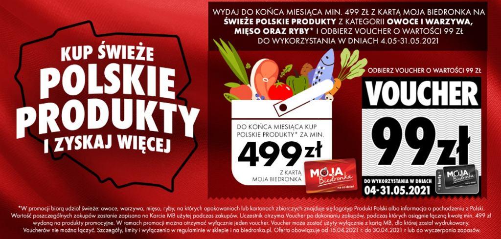 Kupuj świeże polskie produkty i zyskaj więcej