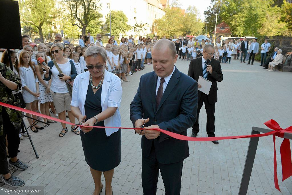Barbara Stanisławiszyn i Piotr Krzystek