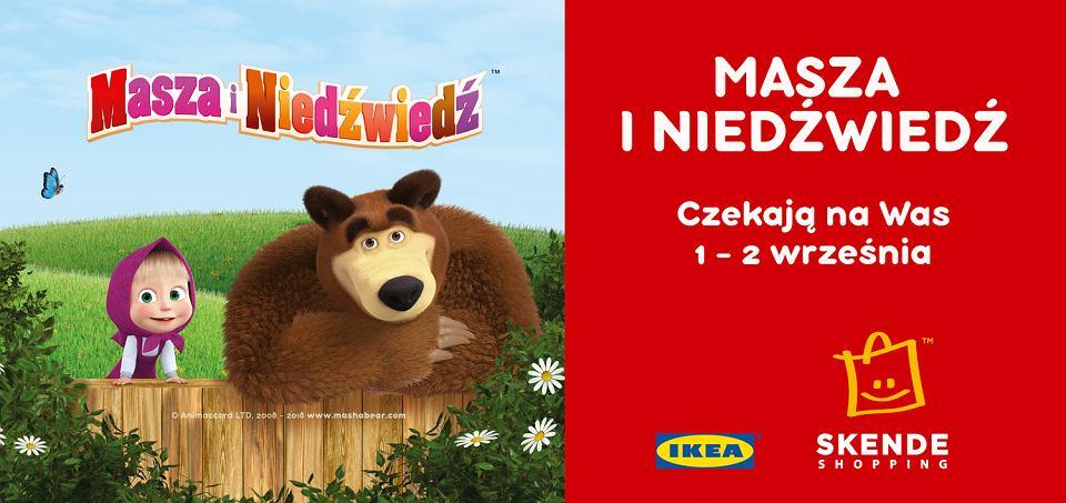 Skende Shopping Masza I Niedźwiedź Odwiedzą Lublin