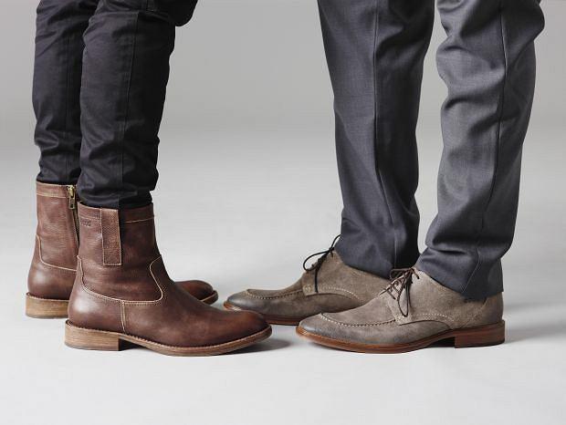 Buty z kolekcji Ecco. Cena (od lewej): ok. 600 zł i 440 zł