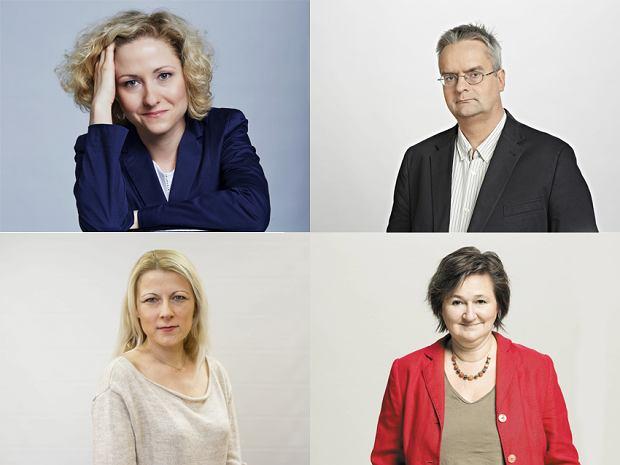 Katarzyna Włodkowska, Wojciech Czuchnowski, Magdalena Mach, Magdalena Środa