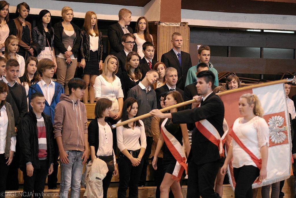 Inauguracja roku szkolnego w Zespole Szkół Ekonomiczno-Handlowych w Olsztynie