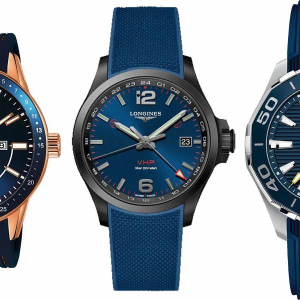 5 zegarkowych propozycji LOGO: w niebieskiej tonacji
