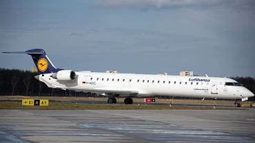 Samolot linii Lufthansa.