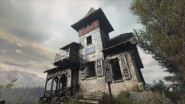 Budynek w grze 'Zaginięcie Ethana Cartera'