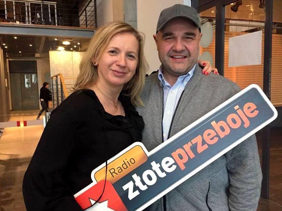 Marzena Rogalska i Cezary Żak w programie 'Rogalska od Kuchni'