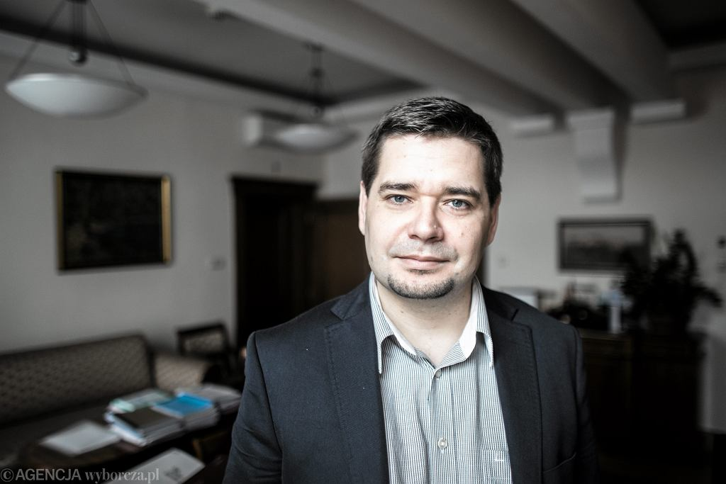 Były wiceminister sprawiedliwości Michał Królikowski
