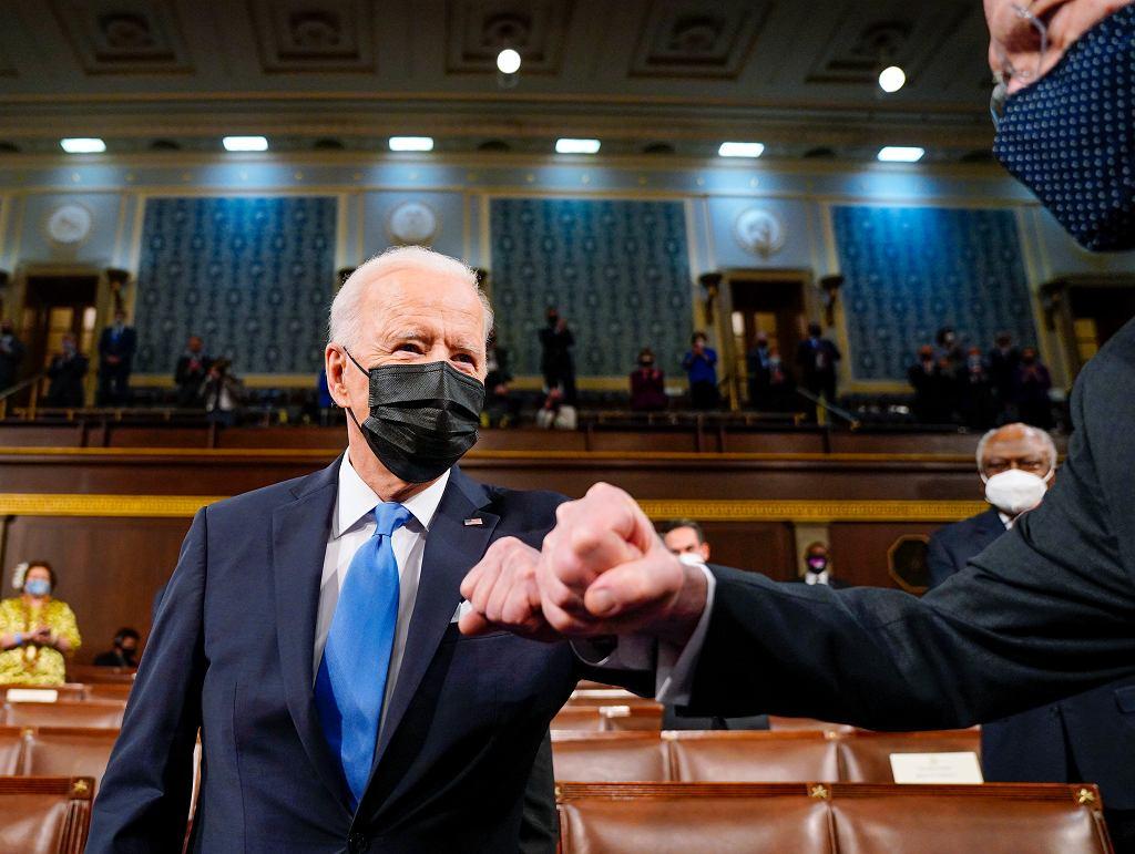 Joe Biden przekonuje w orędziu: Ameryka znów ruszyła do przodu