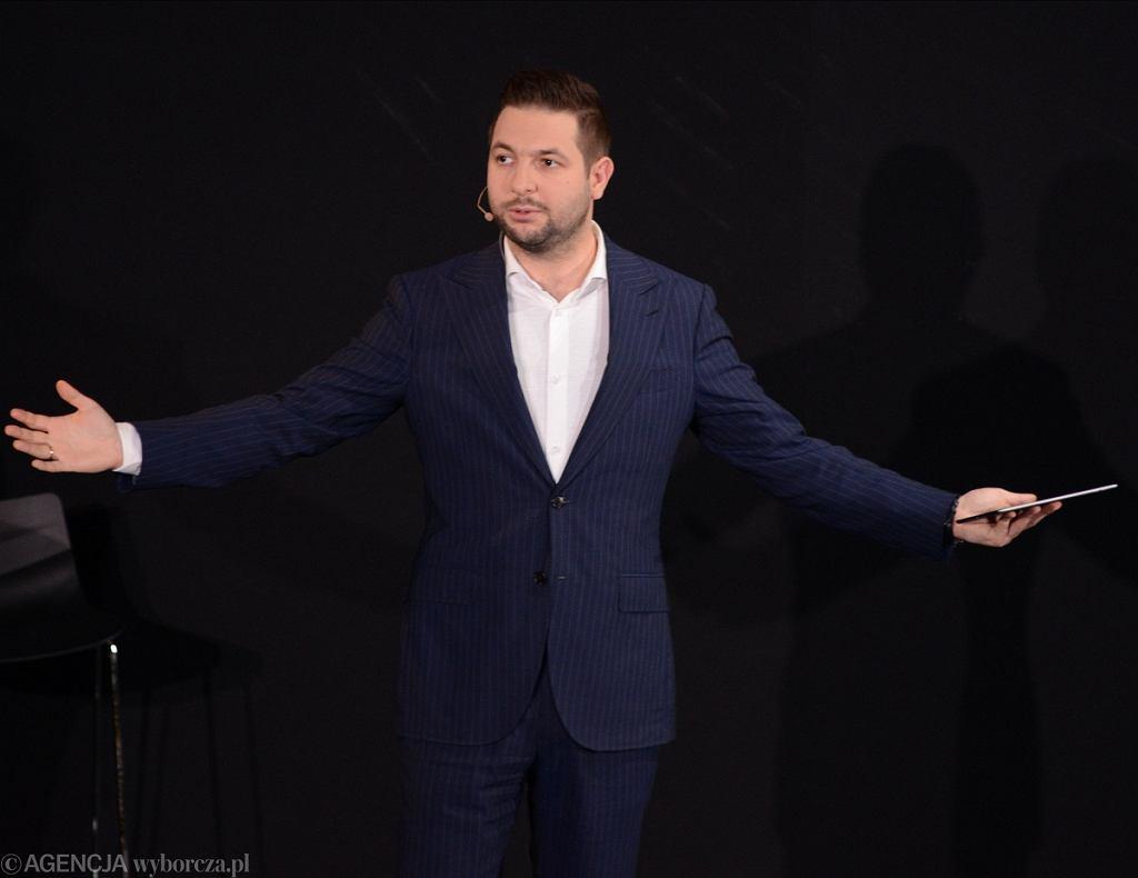 Patryk Jaki, wiceminister sprawiedliwości, kandydat PiS na prezydenta Warszawy