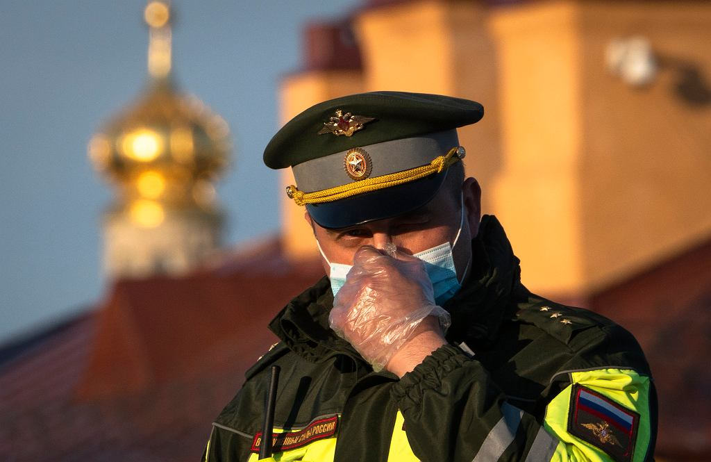 Virus Outbreak Russia St.Petersburg Anniversary