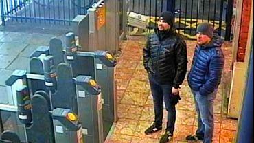 Rosyjscy 'turyści' w Salisbury, gdzie doszło próby otrucia podwójnego agenta Siergieja Skripala