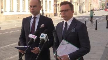 Michał Szczerba i Dariusz Joński (fot. Twitter/@NewsPlatforma)