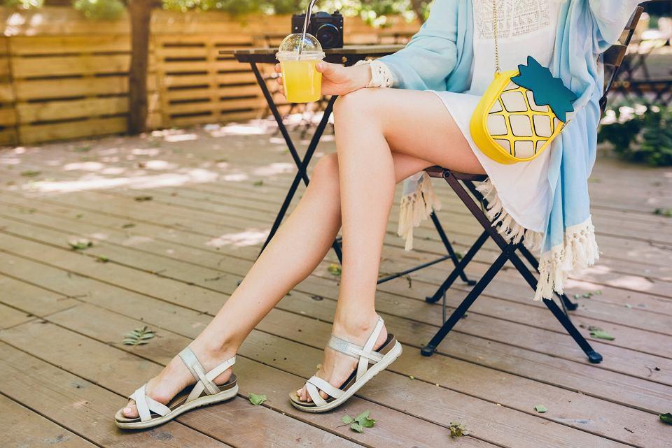 białe buty damskie