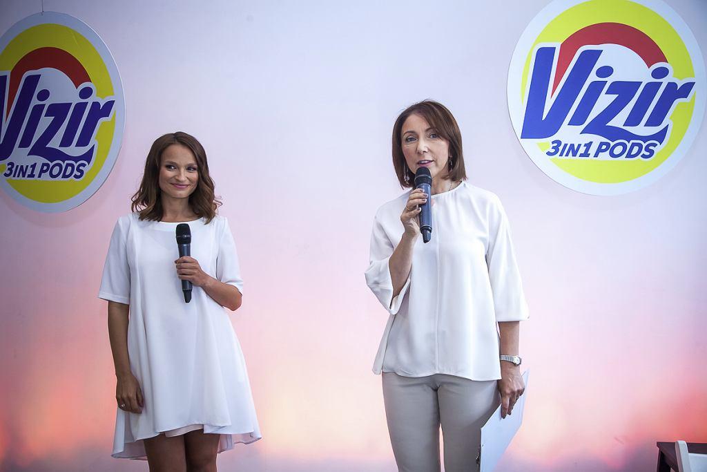 Anna Starmach na warsztatach z marką Vizir