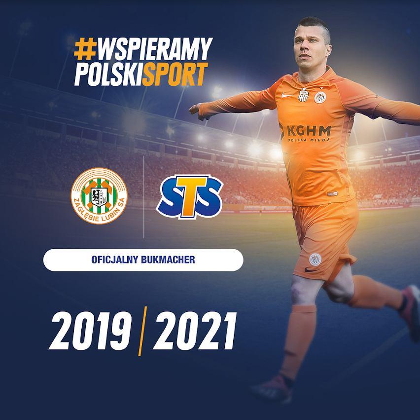 STS oficjalnym sponsorem Zagłębia Lubin
