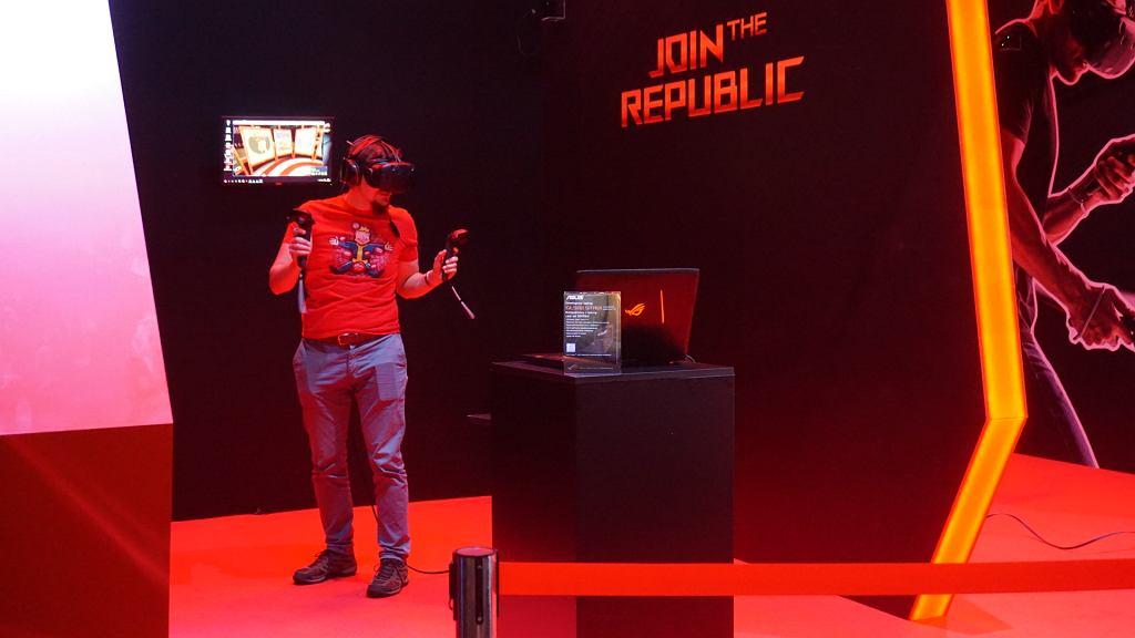 Asus na T-Mobile Warsaw Games Week 2016