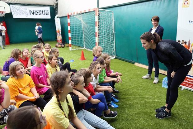 Dzień Dziecka z lekkoatletyką: Anna Jagaciak poprowadzi lekcję WF-u!