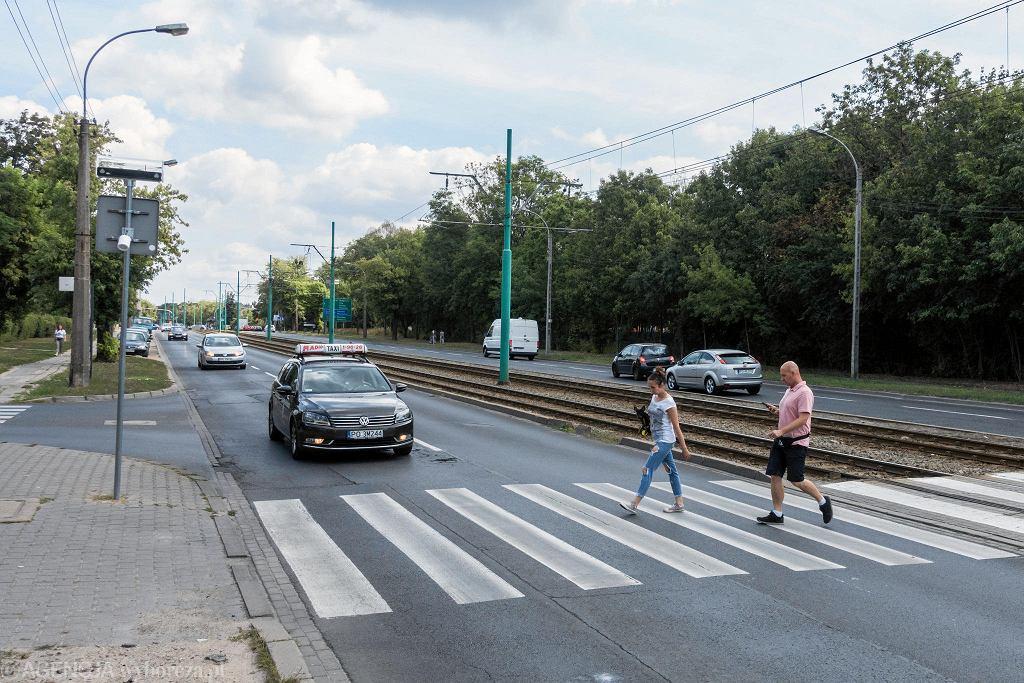 Niebezpieczne przejście dla pieszych na ul. Grunwaldzkiej