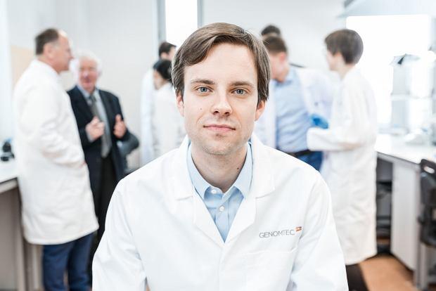 Miron Tokarski, prezes firmy Genomtec
