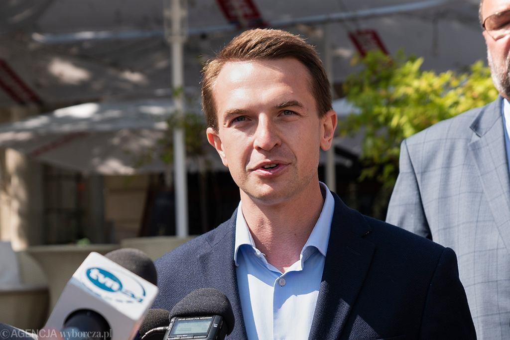 Wybory parlamentarne 2019. Adam Szłapka, Nowoczesna