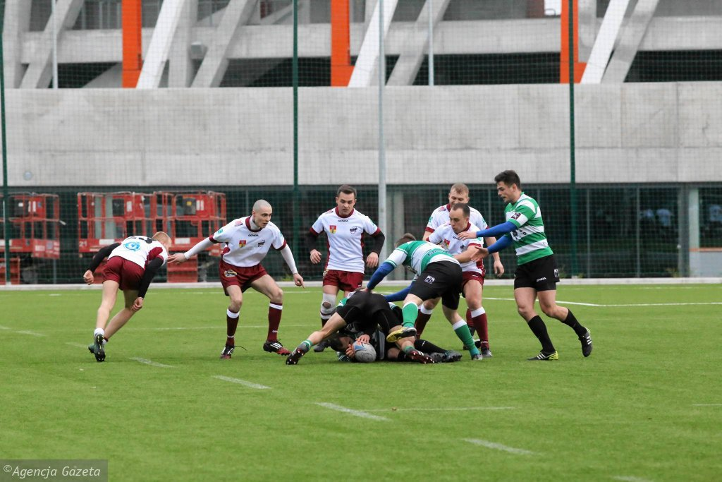 Rugby Białystok - AZS AWF Warszawa