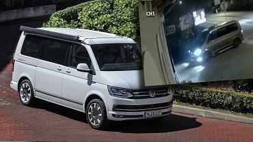 Volkswagen California T6 wiceministra rozwoju skradziony