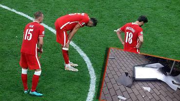 Kibic nie wytrzymał po meczu Polska - Szwecja