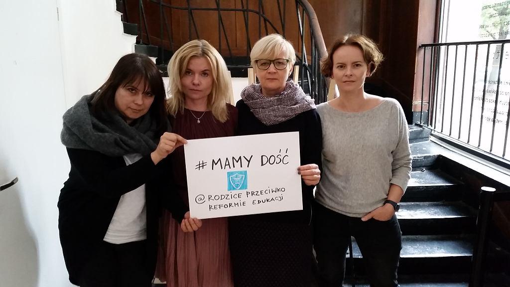 Od lewej: Iwona Babicz, Dorota Łoboda, Anna Plewicka-Szymczak i Milena Leśniak z ruchu