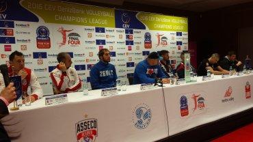 Final Four Ligi Mistrzów. Konferencja prasowa