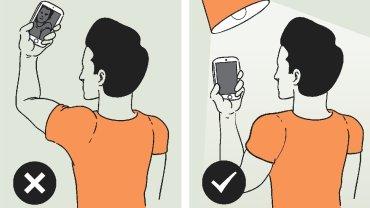 Idealne selfie: poradnik