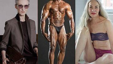 Seniorzy w modzie i fitnessie.