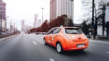 Elektryczne taksówki w Warszawie