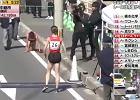 Heroizm japońskiej biegaczki. Złamała nogę, dotarła do mety na czworaka