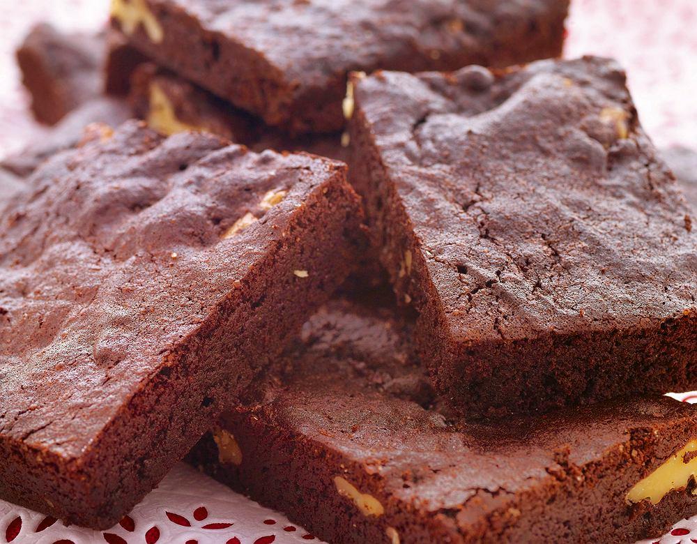 Kakaowe brownies z palonym masłem