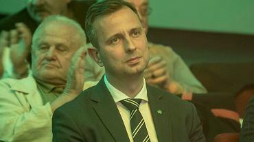 Wrzesień 2019 r. Władysław Kosiniak-Kamysz podczas wieczoru wyborczego Koalicji Polskiej (PSL + Kukiz'15) w Zielonej Górze