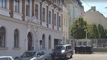 Okolice amerykańskiej ambasady w Wiedniu