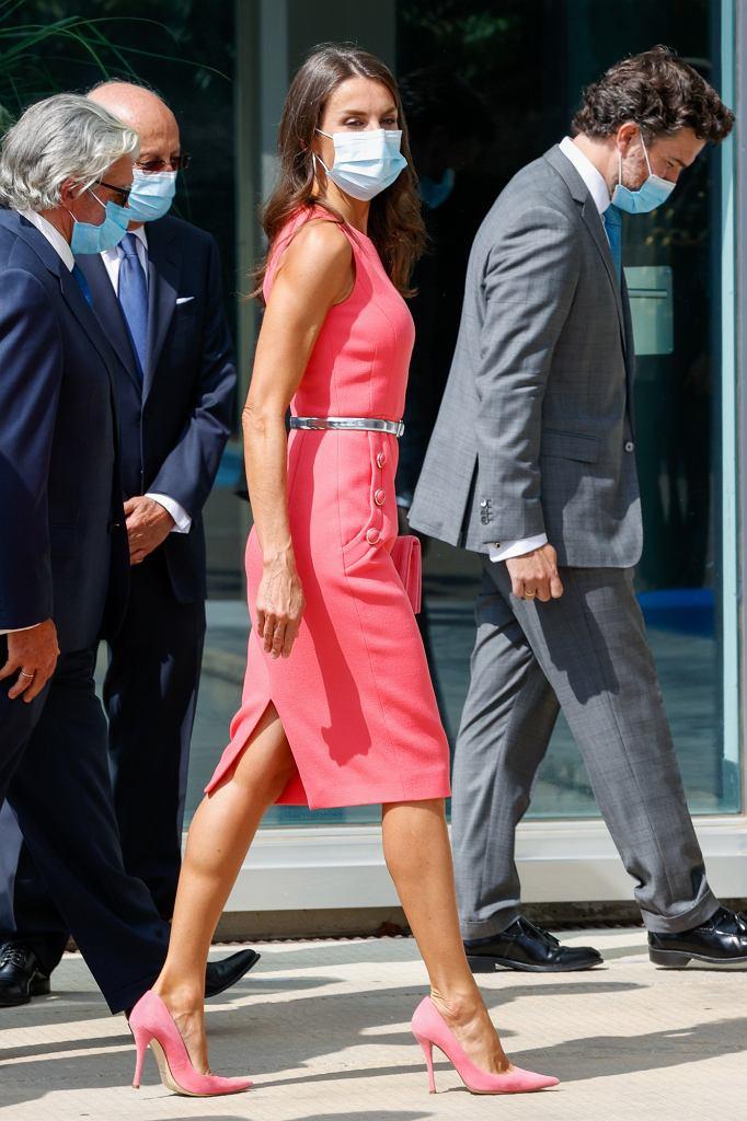Królowa Letizia z mężem na oficjalnym wydarzeniu