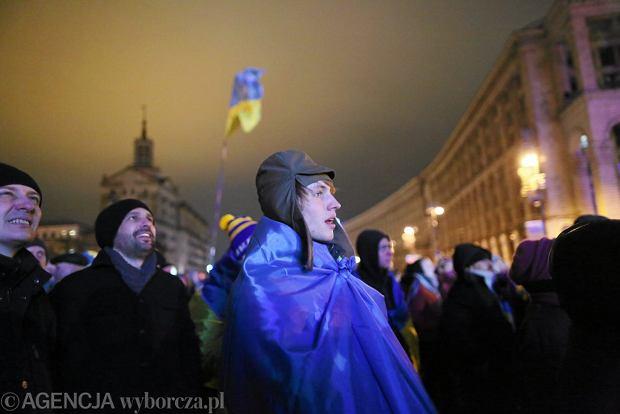 Demonstracja na Majdanie w Kijowie, 01.12.2013