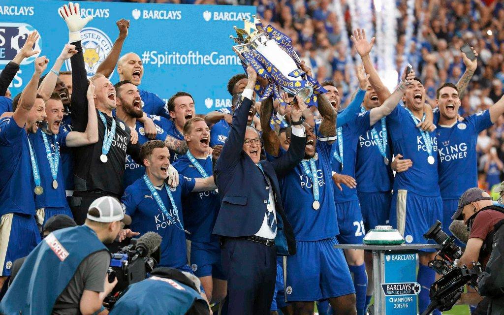 Leicester City świętuje mistrzostwo Anglii