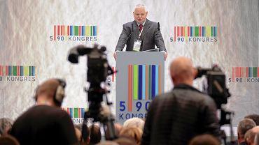 Prezes Narodowego Banku Polskiego Adam Glapinski podczas III edycji Kongresu 590. Jasionka, 15 listopada 2018