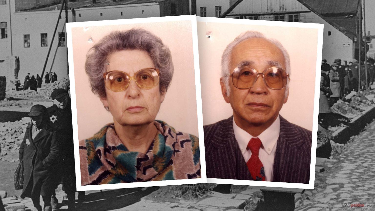 Paul Nguyen Cong Anh i jego żona Jadwiga