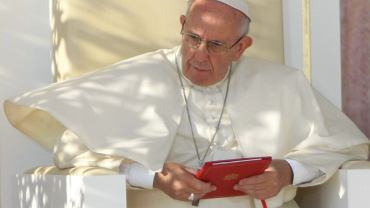 Papież Franciszek zmienił zapisy katechizmu dotyczące kary śmierci (fot. Sławomir Kamiński/AG)