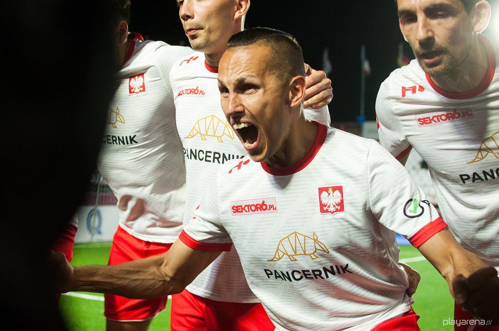 Mecz Polska - Bułgaria w socca