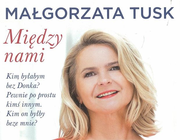 Okładka książki Małgorzaty Tusk