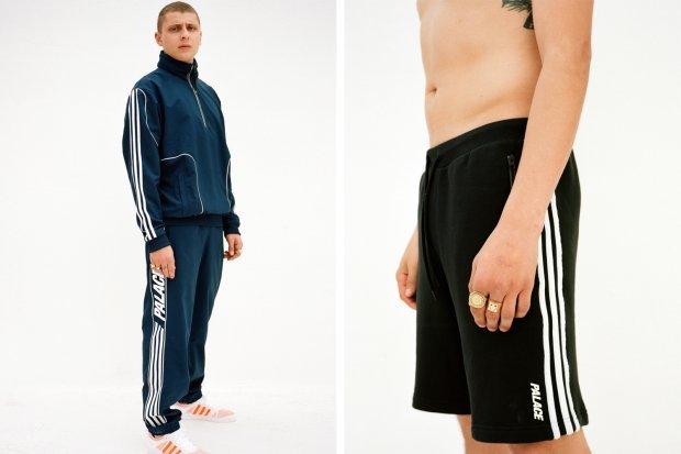 Kolekcja Palace Skateboards dla Adidas Originals - dres i krótkie spodenki