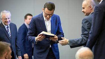 Mateusz Morawiecki i Waldemar Paruch
